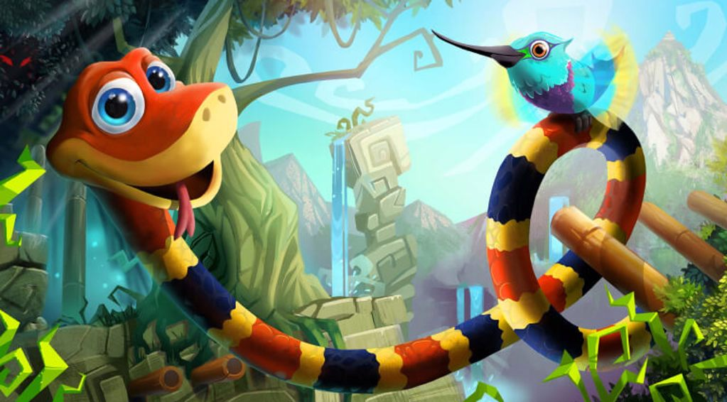 Character from Snake Pass
